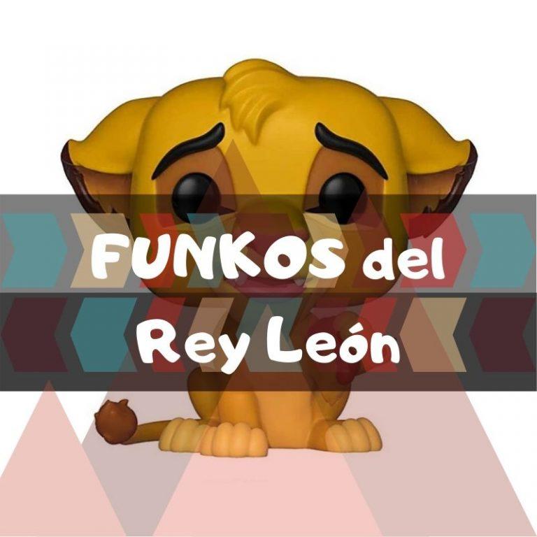 Lee más sobre el artículo Los mejores funkos POP del Rey Léon