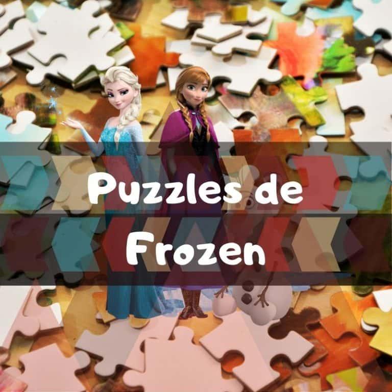 Los mejores puzzles de Frozen
