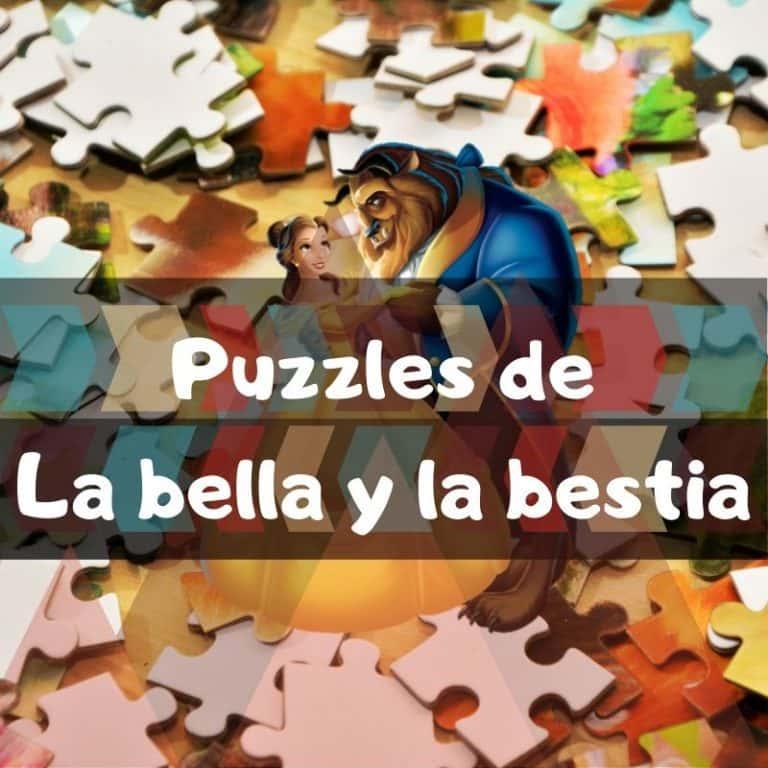 Los mejores puzzles de la Bella y la Bestia