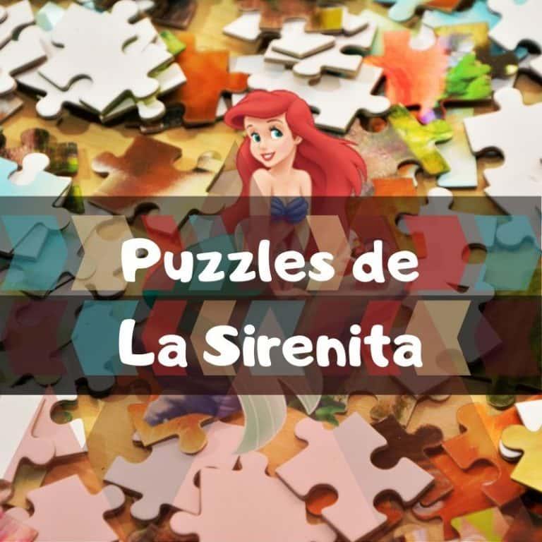 Los mejores puzzles de la Sirenita