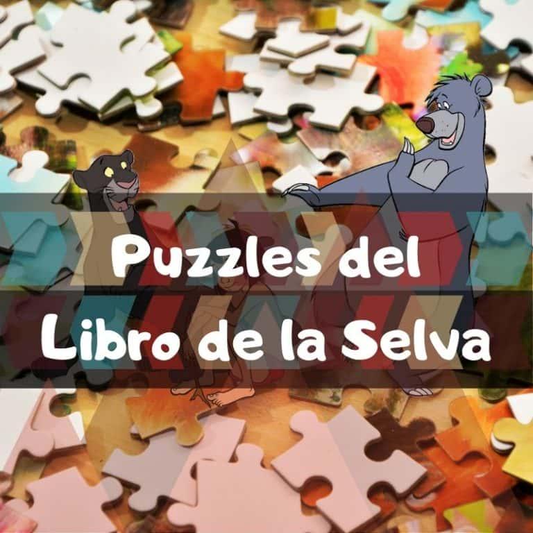 Los mejores puzzles del libro de la selva