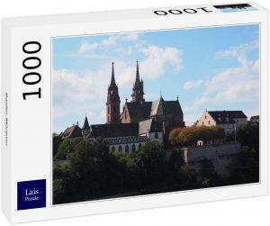 Los mejores puzzles de Basilea - Puzzle de Minster de Basilea de 1000 piezas de Lais