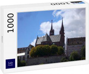 Los mejores puzzles de Basilea - Puzzle de la Catedral de Basilea de 1000 piezas de Lais