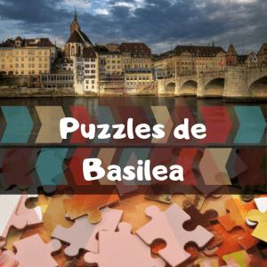 Los mejores puzzles de Basilea en Suiza - Puzzles de ciudades