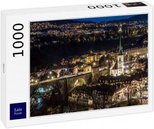 Los mejores puzzles de Berna en Suiza - Puzzle de 1000 piezas de Berna iluminado