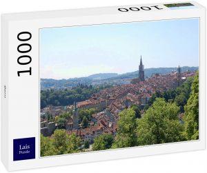Los mejores puzzles de Berna en Suiza - Puzzle de 1000 piezas de vistas de Berna