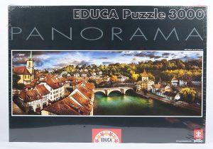 Los mejores puzzles de Berna en Suiza - Puzzle de 3000 piezas de panorama de Berna