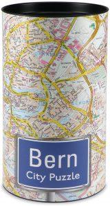 Los mejores puzzles de Berna en Suiza - Puzzle de 500 piezas del mapa de Berna