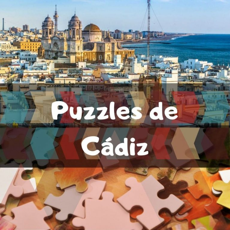 Los mejores puzzles de Cádiz