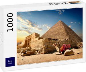 Los mejores puzzles de Egipto - Puzzle de 1000 piezas de Camello y Pirámide de Egipto de Lais