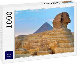 Los mejores puzzles de Egipto - Puzzle de 1000 piezas de Esfinge y Pirámide de Egipto de Lais