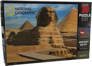 Los mejores puzzles de Egipto - Puzzle de 500 piezas del Antiguo Egipto con efecto 3D