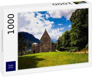 Los mejores puzzles de Escocia - Puzzle de 1000 piezas de Iglesia en Escocia de Lais