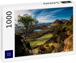 Los mejores puzzles de Escocia - Puzzle de 1000 piezas de Quiraing en Escocia de Lais