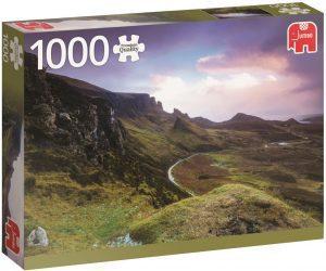 Los mejores puzzles de Escocia - Puzzle de 1000 piezas de Trotternish Ridge en Escocia de Jumbo