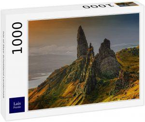 Los mejores puzzles de Escocia - Puzzle de 1000 piezas de la Isla de Skye 2 en Escocia de Lais