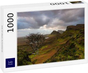 Los mejores puzzles de Escocia - Puzzle de 1000 piezas de la Isla de Skye 4 en Escocia de Lais