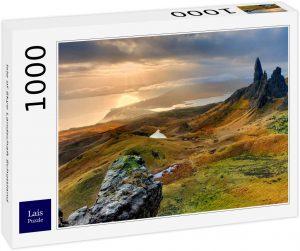 Los mejores puzzles de Escocia - Puzzle de 1000 piezas de la Isla de Skye en Escocia de Lais