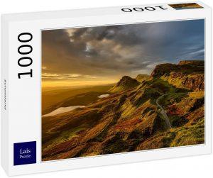 Los mejores puzzles de Escocia - Puzzle de 1000 piezas de paisajes en Escocia de Lais