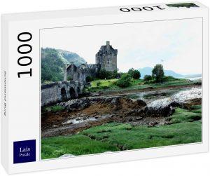 Los mejores puzzles de Escocia - Puzzle de 1000 piezas del Castillo de Escocia de Lais