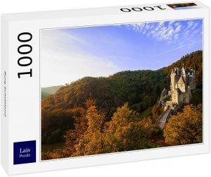 Los mejores puzzles de Escocia - Puzzle de 1000 piezas del Castillo en Escocia de Lais