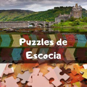 Los mejores puzzles de Escocia - Puzzles de paisajes naturales de Escocia - Puzzles del país de Escocia