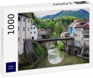 Los mejores puzzles de Eslovenia - Puzzle de 1000 piezas de Skofja Loka en Eslovenia