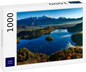 Los mejores puzzles de Eslovenia - Puzzle de 1000 piezas de vistas del Lago Bled en Eslovenia