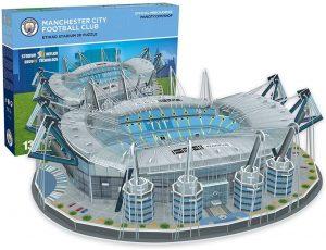 Los mejores puzzles de Manchester en Inglaterra - Puzzle del Estadio Etihad en 3D del Manchester City