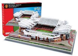 Los mejores puzzles de Manchester en Inglaterra - Puzzle del Old Trafford en 3D del Manchester United