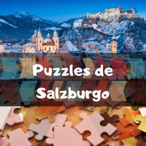 Los mejores puzzles de Salzburgo en Austria - Puzzles de ciudades