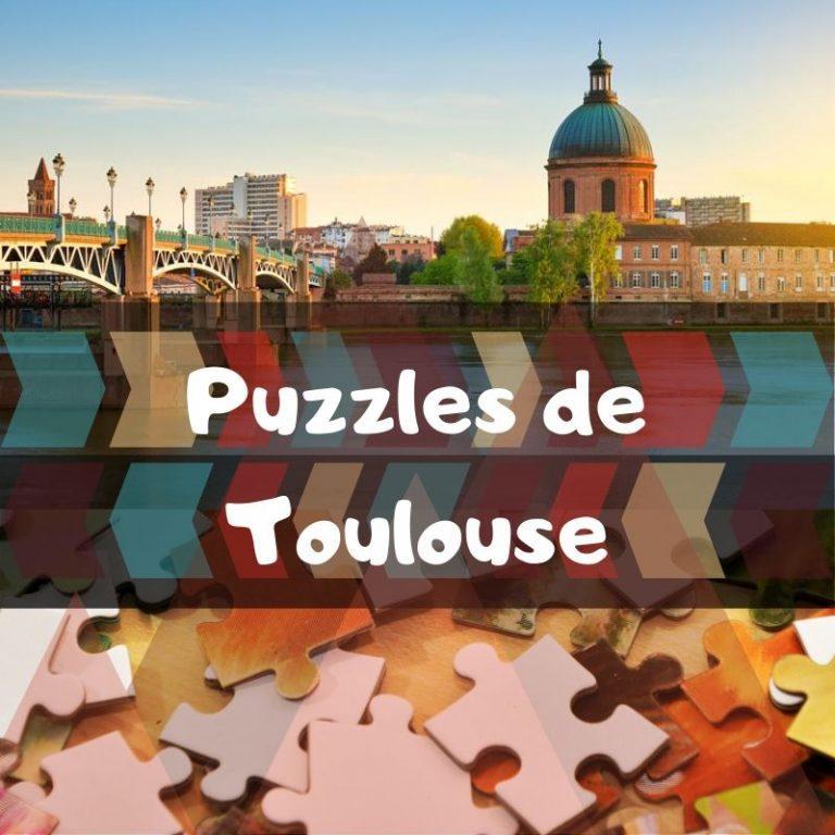 Los mejores puzzles de Toulouse