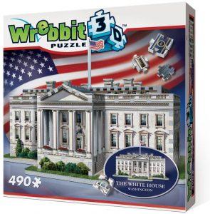 Los mejores puzzles de Washington DC - Puzzle de la Casa Blanca en 3D de 490 piezas
