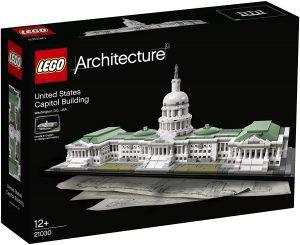 Los mejores puzzles de Washington DC - Puzzle del Capitolio de Washington DC en 3D de LEGO