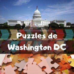 Los mejores puzzles de Washington DC en EEUU - Puzzles de la ciudad de Washington DC