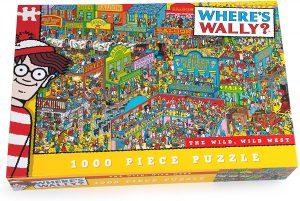 Los mejores puzzles de buscando a Wally - Puzzle de 1000 piezas de Buscando a Wally en el Oeste