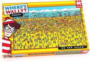 Los mejores puzzles de buscando a Wally - Puzzle de 1000 piezas de Buscando a Wally en la playa