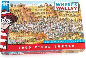 Los mejores puzzles de buscando a Wally - Puzzle de 1000 piezas de Buscando a Wally en los últimos días de los aztecas