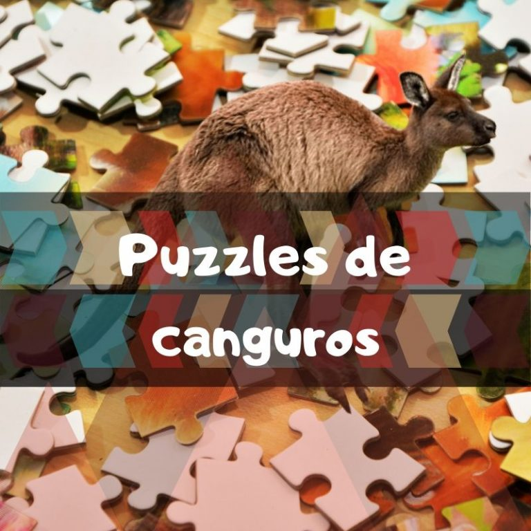 Los mejores puzzles de canguros