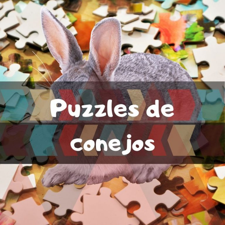 Los mejores puzzles de conejos y liebres