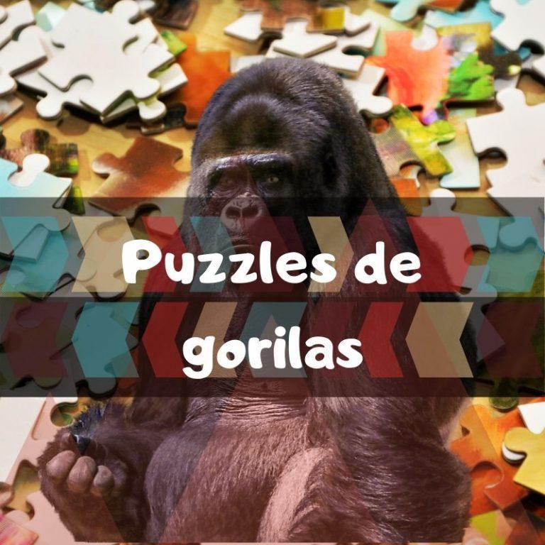 Los mejores puzzles de gorilas