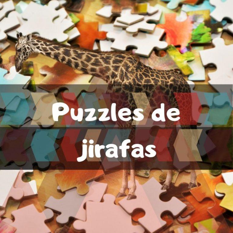 Los mejores puzzles de jirafas