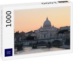 Los mejores puzzles de la Basílica de San Pedro en el Vaticano - Puzzle de la Basílica de San Pedro de 1000 piezas de Lais