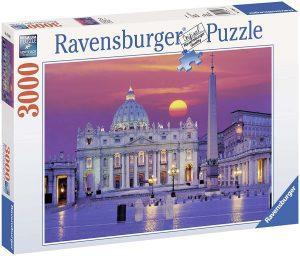 Los mejores puzzles de la Basílica de San Pedro en el Vaticano - Puzzle de la Basílica de San Pedro de 3000 piezas de Ravensburger