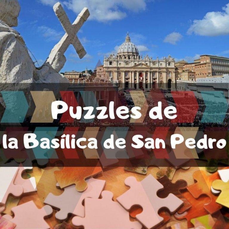 Los mejores puzzles de la Basílica de San Pedro en el Vaticano
