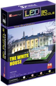 Los mejores puzzles de la Casa Blanca - Puzzle de la Casa Blanca en 3D de 56 piezas