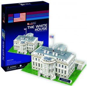 Los mejores puzzles de la Casa Blanca - Puzzle de la Casa Blanca en 3D de 64 piezas