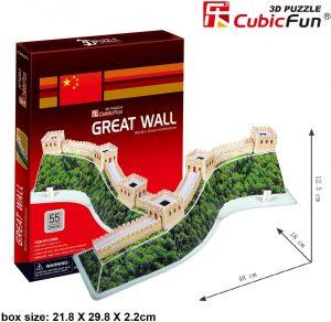Los mejores puzzles de la Gran Muralla China - Puzzle de la Gran Muralla China en 3D
