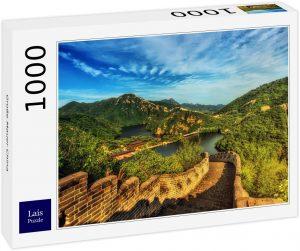 Los mejores puzzles de la Gran Muralla China - Puzzle de la Gran Muralla de 1000 piezas brillante