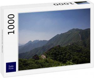 Los mejores puzzles de la Gran Muralla China - Puzzle de la Gran Muralla de 1000 piezas con fondo